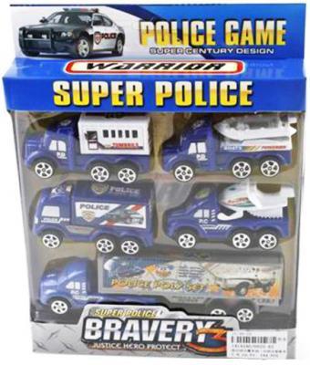 """Игровой набор Наша Игрушка """"Super Police"""" синий 5 шт 0025-A5"""