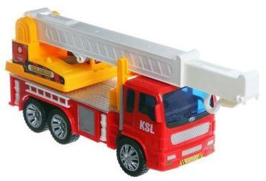 Пожарная машина Zhorya Пожарная красный В54251 smoby пожарная машина 3308358