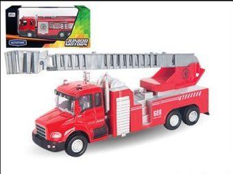 Пожарная машина Autotime Fire Liquidator Truck красный 34123 машинки autotime машина motorhome sunshine 1 48