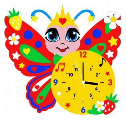 Набор для творчества Часы Бабочка