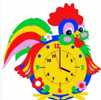 Набор для творчества Часы Петух