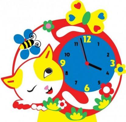 Набор для творчества Часы Котик