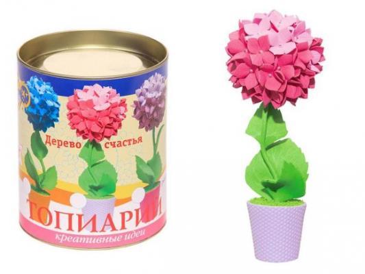 Набор для тв-ва топиарий малый Гортензия (розовая) набор для тв ва раскраска по номерам золушка