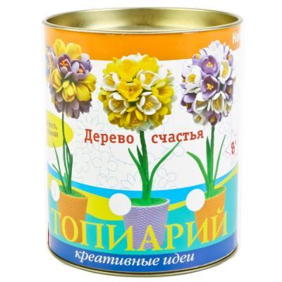 Набор для тв-ва топиарий малый Крокусы (фиолетовый/желтый)