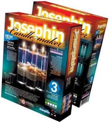 Свечи гелевые с ракушками набор №3