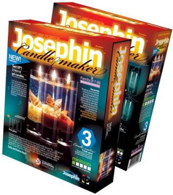 Свечи гелевые с ракушками набор №2