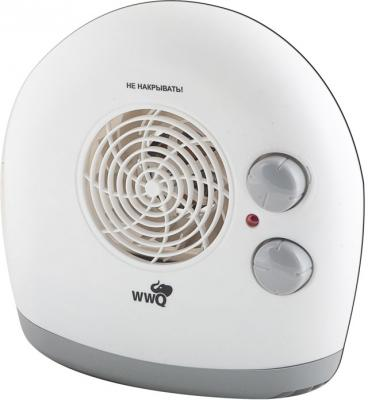 Тепловентилятор WWQ TB-03S 2000 Вт термостат белый тепловентилятор wester tb 3 6 3000 вт чёрный оранжевый