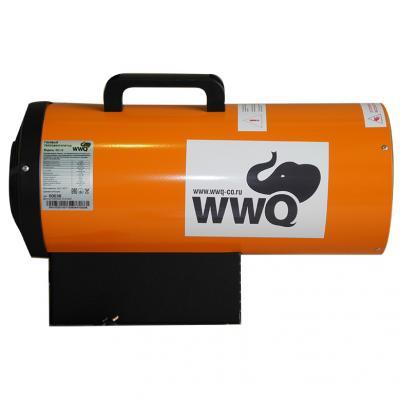 Тепловая пушка газовая WWQ GH-15 17000 Вт ручка для переноски чёрный оранжевый wwq тво 6dt