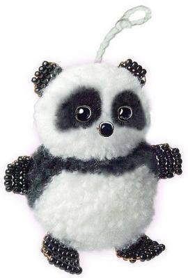 Набор для творчества Клевер Фигурка из бисера Маленькая панда от 8 лет АА 09-201 набор для творчества expetro панда с шарфом tf 021