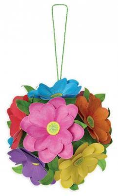 Купить Набор для творчества Клевер Объемный Шар из цветов от 8 лет АБ 41-501, Бисероплетение и украшения своими руками