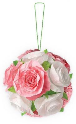 Купить Набор для творчества Клевер Объемный Шар из роз от 10 лет АБ 41-503, Бисероплетение и украшения своими руками