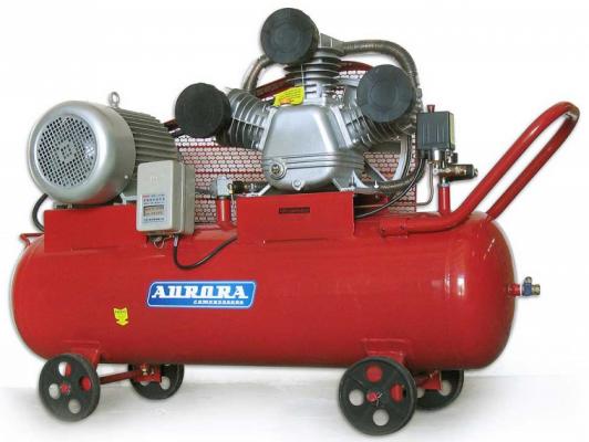 Компрессор Aurora TORNADO-135 5,5кВт чехол для сотового телефона skinbox silicone chrome border 4660041409369 серебристый