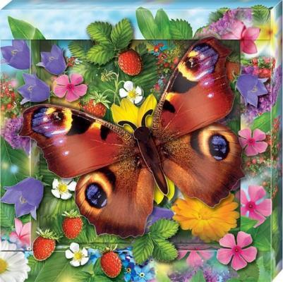 Набор для тв-ва Объемная картинка Радужная бабочка