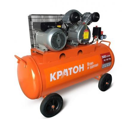 Компрессор КРАТОН AC-300-100-BDV 1,5кВт перфоратор кратон rhe 450 12 3 07 01 022