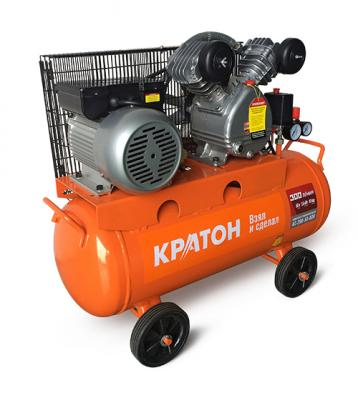 Компрессор КРАТОН AC-300-50-BDV 1500Вт 10бар 300л/мин 50кг ременной масляный компрессор aquael oxyboost 300 plus 200 300л двухканальный 300л ч потр мощн 2 5вт