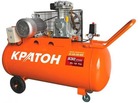 Компрессор Кратон AC-530-200-BDH 3.0кВт поршневой компрессор кратон ac 630 110