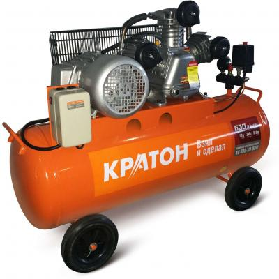 Компрессор КРАТОН AC-630-110-BDW 3000Вт 630л/мин 10бар 104кг ременной масляный компрессор масляный