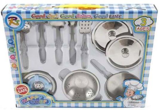 Набор посуды мет. Счастливый повар, 10 предм., кор.