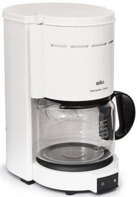 Кофеварка Braun KF47/1 белый цена и фото