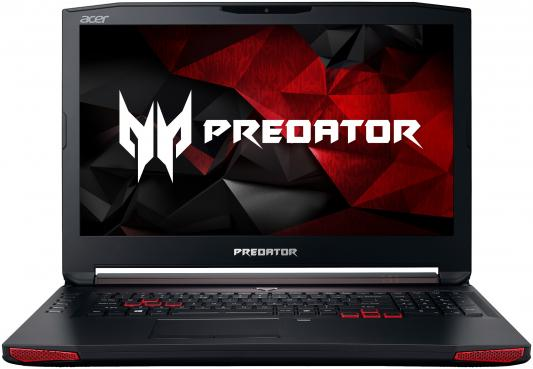 Ноутбук Acer Predator G9-793-730B 17.3 1920x1080 Intel Core i7-7700HQ NH.Q1VER.004 ноутбук acer predator g9 793 72qz 17 3 3840x2160 intel core i7 7700hq 2tb 512 ssd 32gb nvidia geforce gtx 1070 8192 мб черный windows 10 home nh q1uer 005