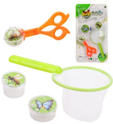 Купить Игровой набор Наша Игрушка Маленький биолог 4 предмета, унисекс, Спортивные товары