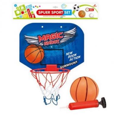 Купить Набор для игры в баскетбол Наша Игрушка Супер 4 предмета, унисекс, Спортивные товары