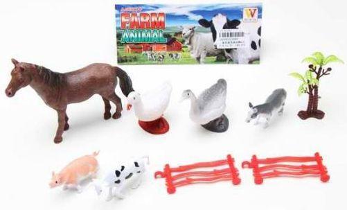 Набор фигурок Наша Игрушка Домашние животные 2090 набор фигурок dress it up домашние животные 12 шт 7702161