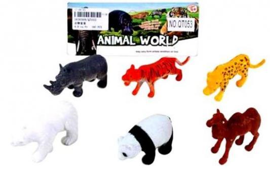 Набор фигурок Наша Игрушка Дикие животные QT053 игрушка mehano 1 f101 набор рельс