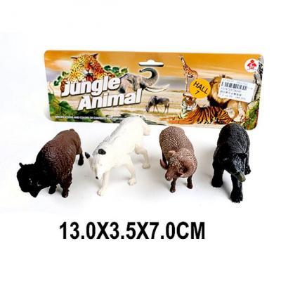 цена на Набор фигурок Наша Игрушка Дикие животные 2A247