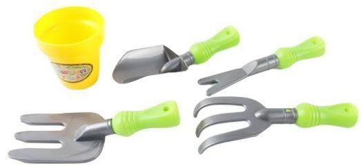 Набор Наша Игрушка Маленький садовник 5 предметов 1988-4 игрушка