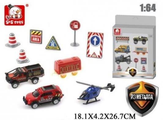 Игровой набор Наша Игрушка Автотрасса 4 предмета 101020285