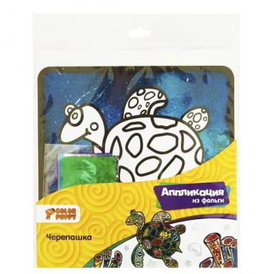 Набор для аппликаций Color Puppy Черепашка от 3 лет 95339 набор для аппликаций color puppy рыбка от 3 лет 95340