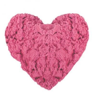 Кинетический песок 0,5 кг, Розовый