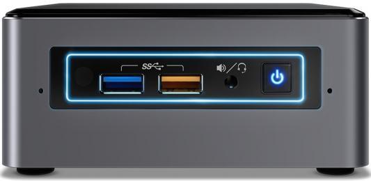 Платформа Intel NUC Original BOXNUC7i7BNKQ 2xDDR4 цена и фото