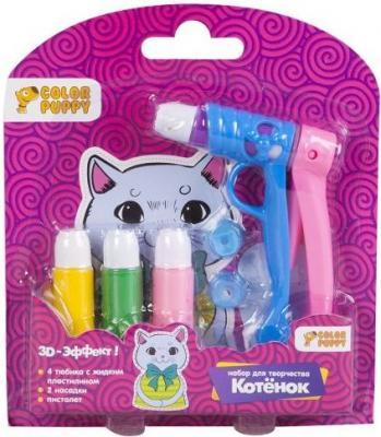 Набор для творчества Color Puppy Котенок от 3 лет 95335 набор для творчества color puppy жидкий пластилин от 3 лет 95331