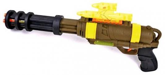 Автомат Наша Игрушка Автомат коричневый желтый LX7611
