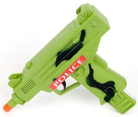 Автомат-трещетка Наша Игрушка Автомат зеленый 3265-4