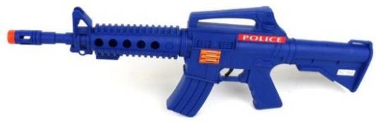 Автомат-трещетка Наша Игрушка Автомат синий M4E