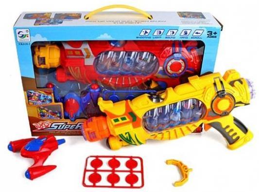 Бластер Наша Игрушка Бластер желтый AK618-2 игрушка
