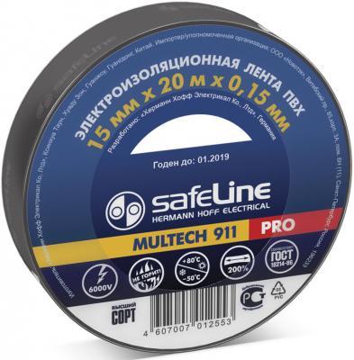 Изолента SAFELINE 15/20 черная wsu wire wrap strip unwrap tool prototyping wrapping needle