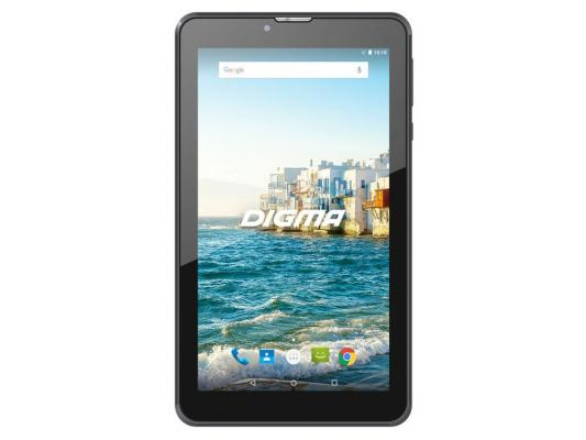 Фото Планшет Digma Plane 7548S 4G 7 16Gb Black Wi-Fi 3G Bluetooth LTE Android PS7160PL сотовый телефон digma linx a177 2g
