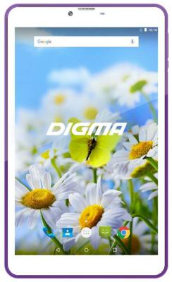цена на Планшет Digma Plane 7539E 4G 7 16Gb White Violet Wi-Fi Bluetooth 3G LTE Android PS7155ML