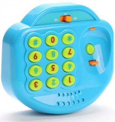 Интерактивная игрушка Наша Игрушка Телефончик детский от 18 месяцев синий WD3738