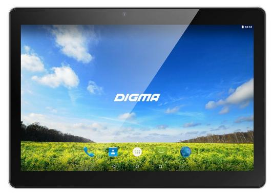 Планшет Digma Plane 1550S 3G 10.1 16Gb Black Wi-Fi 3G Bluetooth Android PS1163MG планшет digma plane 8540e 4g purple white ps8156ml mediatek mt8735 1 0 ghz 2048mb 16gb gps 3g wi fi bluetooth cam 8 0 1280x800 android