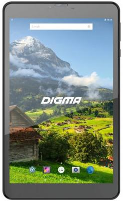 "Планшет Digma Plane 8555M 4G 8"" 16Gb Black Wi-Fi 3G Bluetooth LTE Android PS8168ML explay cosmic 16gb wi fi 3g black"
