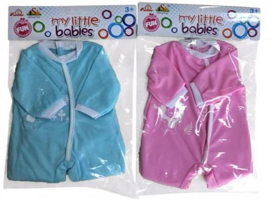 Одежда для кукол Наша Игрушка Боди Кроха, для куклы 39-45 см 1618
