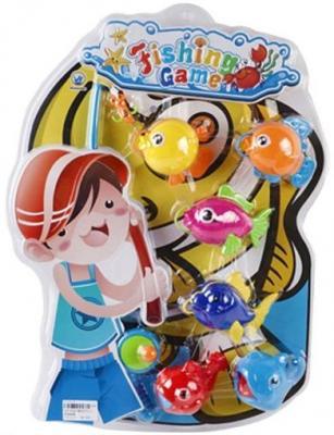 Интерактивная игрушка Наша Игрушка Рыбалка с крючком удочка от 3 лет BW30035-2 удочка