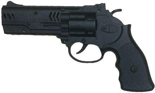 Револьвер Наша Игрушка Револьвер черный 635689 в москве травматический револьвер таурус