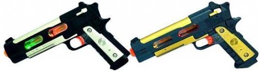 Пистолет Наша Игрушка Пистолет черный цвет в ассортименте Y9082456 цена