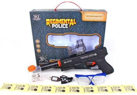 Пистолет Наша Игрушка FU6814 черный игрушка